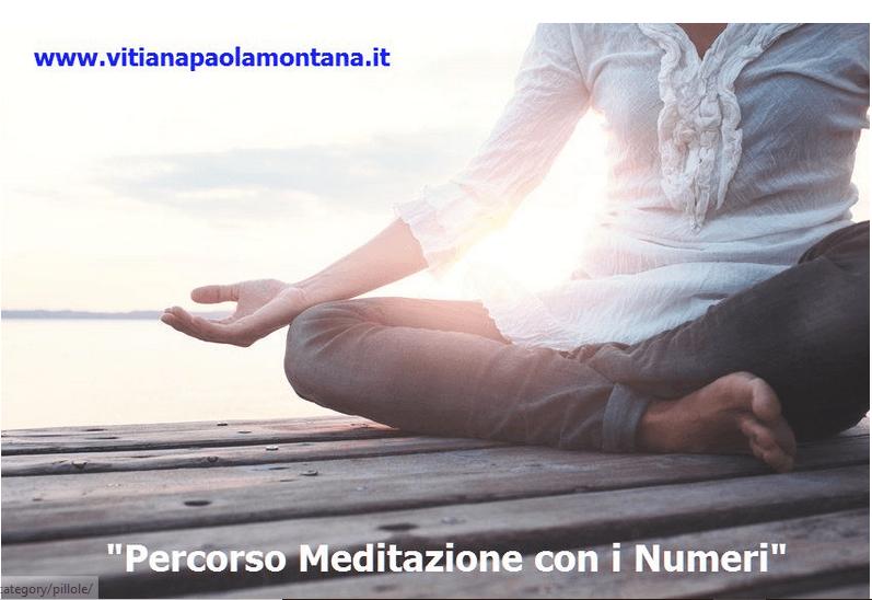 percorso meditazione con i numeri