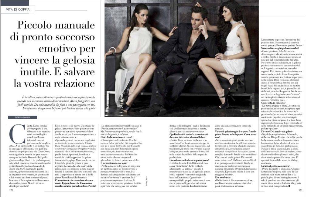 vitiana paola montana-intervista al settimanale F di Cairo Editore- rivista n 5 8 febbraio 2017
