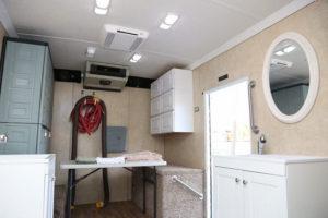 camion doccia mobile