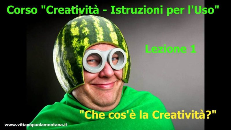 percorso creatività