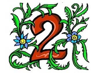 il significato del numero 2