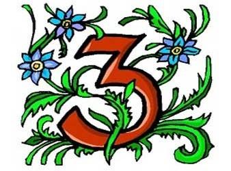 il significato del numero 3