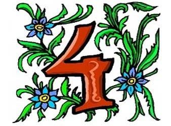 significato esoterico del numero 4