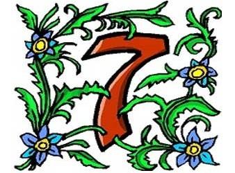 il significato del numero 7