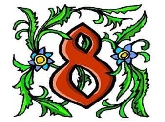 il significato del numero 8